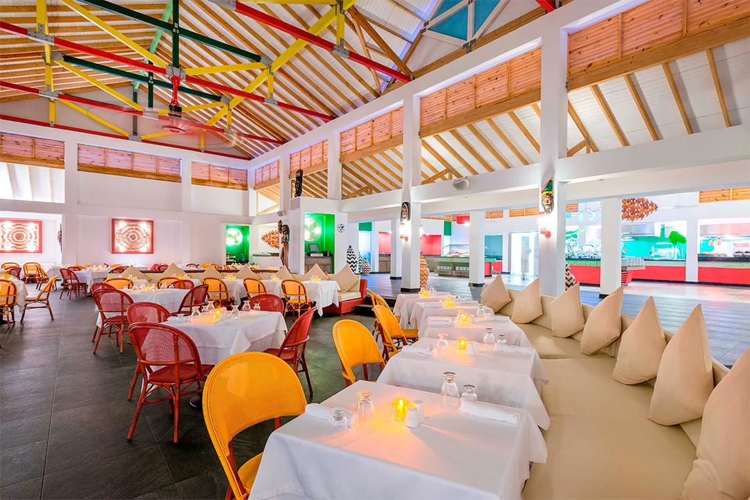 Buffet all you can eat Decameron